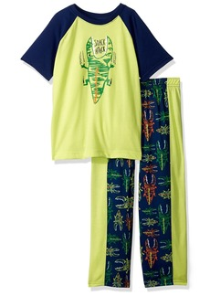 Gymboree Toddler Boys' Printed Pajama Short Set Multi