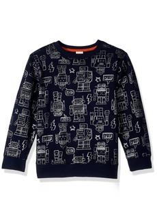 Gymboree Toddler Boys' Pullover Sweatshirt Robot
