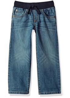 Gymboree Toddler Boys' Rib Waist Straight Jeans