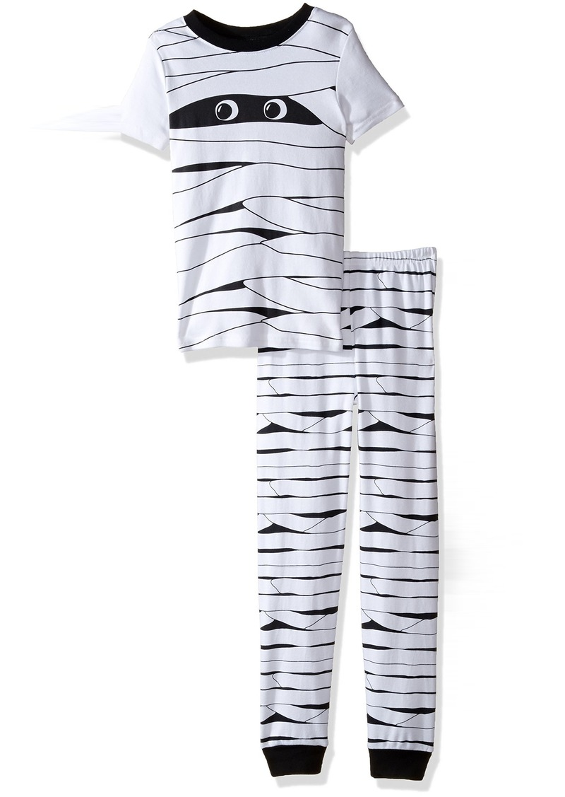 gymboree toddler boys short sleeve halloween pajamas