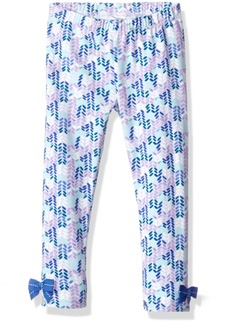 Gymboree Toddler Girls' 5-Pkt Legging with Ankle Bow Detail