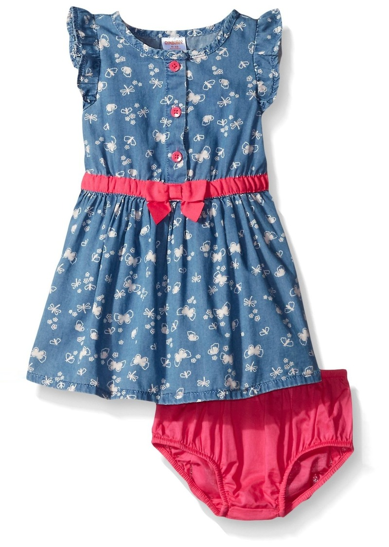 b29138ea7f05 Gymboree Gymboree Toddler Girls' Butterfly Dress Now $23.99