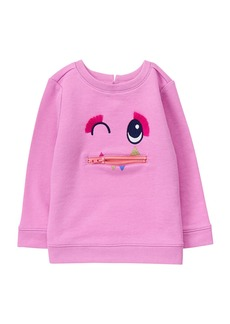 Gymboree Girls' Toddler Character Pullover
