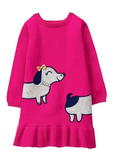Gymboree Toddler Girls' Doggy Sweater Dress