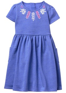 Gymboree Girls' Toddler Dot Embroidered Dress