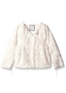 Gymboree Toddler Girls' Faux-Fur Jacket