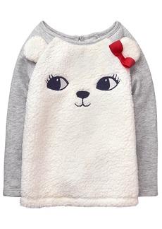 Gymboree Toddler Girls' Fuzzy Pullover