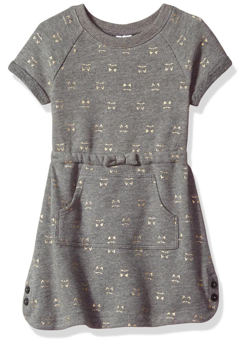 cf42ef65b0b Gymboree Gymboree Toddler Girls  Kitty Print Kanga Pocket Dress Dark ...