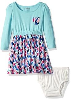 Gymboree Little Girls' Toddler Long Sleeve Everyday Dress  T