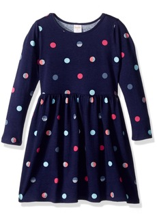 Gymboree Girls' Toddler Long Sleeve Winter Skater Dress