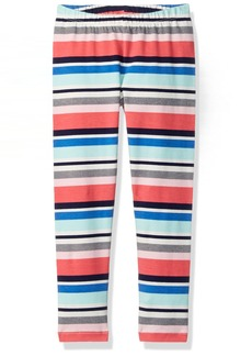 Gymboree Girls' Toddler Mint -Colored Stripe Legging