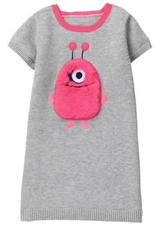 Gymboree Toddler Girls' Monster Face Sweater Dress