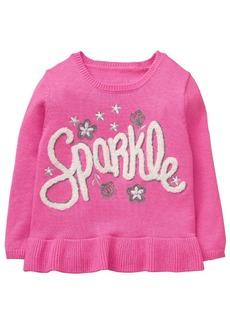 Gymboree Girls' Toddler Owl Face Sweater
