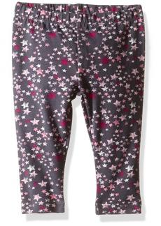 Gymboree Toddler Girls' Printed Legging Gray Star 18-24