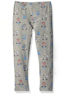 Gymboree Toddler Girls' Grey Pup Print Legging
