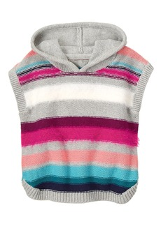 Gymboree Girls' Toddler Stripe Poncho Multi