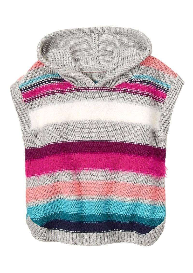 Gymboree Girls Little Sequin Popover Sweater