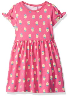 Gymboree Girls' Toddler TIE Sleeve FIT and Flare Knit Dress  T