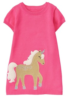Gymboree Toddler Girls' Unicorn Sweater Dress