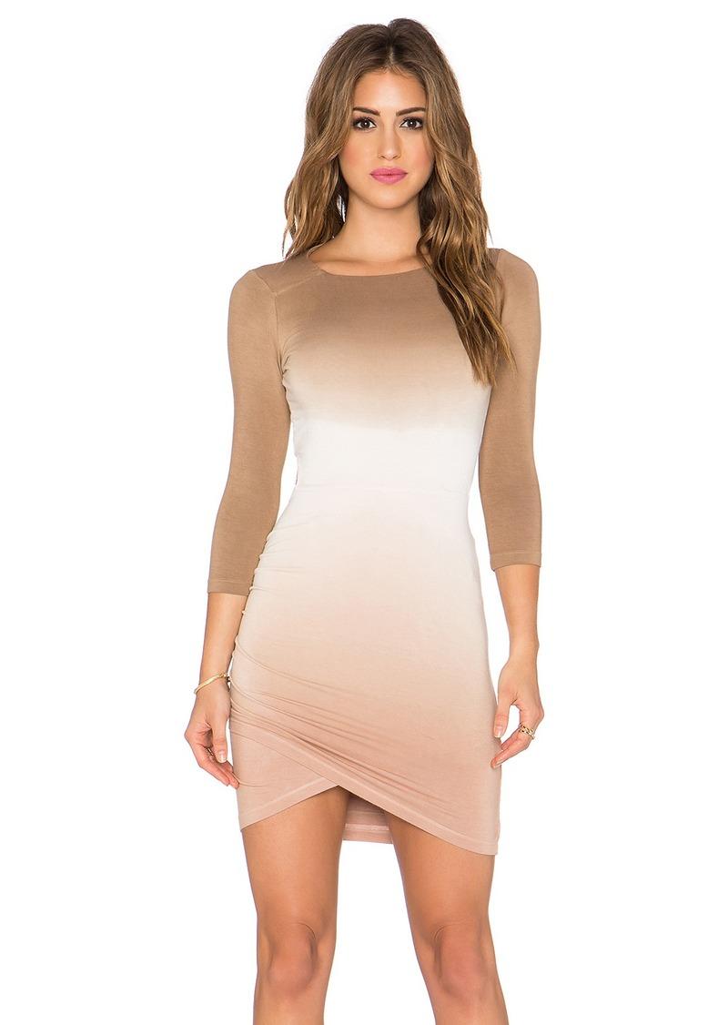 Gypsy 05 3/4 Sleeve Open Back Dress