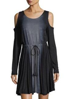 Gypsy 05 Cold-Shoulder Tie-Dye Dress
