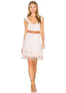 Gypsy 05 Crochet Fringe Dress