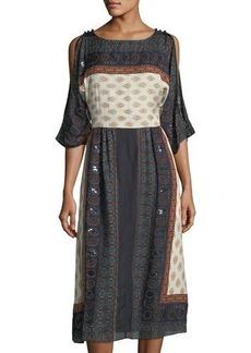 Gypsy 05 Open-Back Peasant Dress