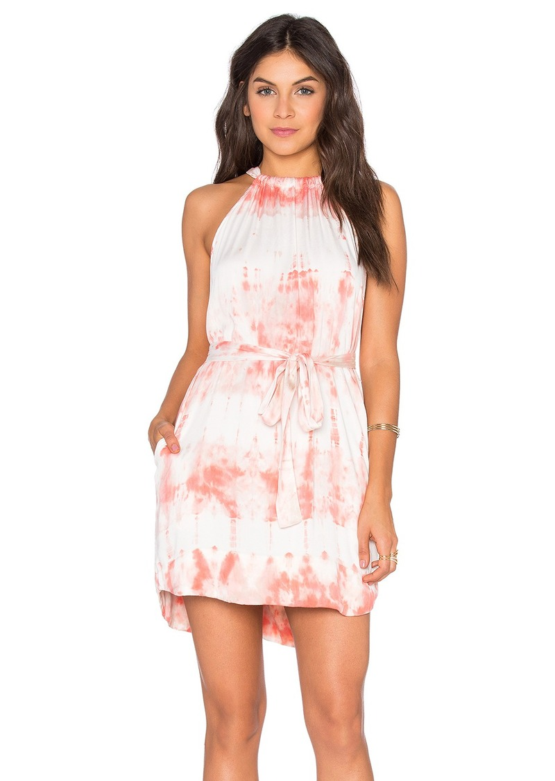 Gypsy 05 Tied Waist Halter Mini Dress