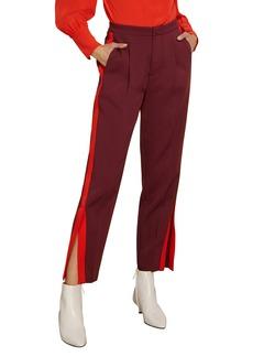 Habitual Jeans Habitual Abigail Side Stripe Ankle Slit Pants