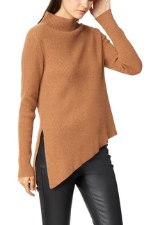 Habitual Jeans Habitual Brette Asymmetrical Rib Knit Cashmere Sweater