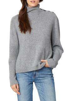 Habitual Jeans Habitual Colette Funnel Neck Cashmere Sweater