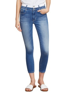 Habitual Jeans Habitual Cressa High Waist Crop Skinny Jeans (Ground/White)