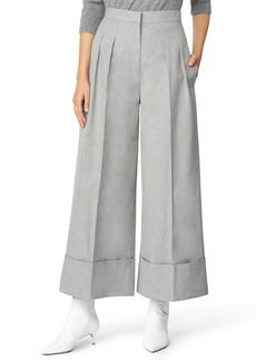 Habitual Jeans Habitual Freida Wide Cuff Crop Cotton Pants