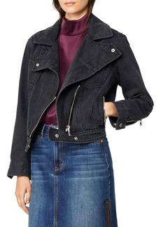 Habitual Jeans Habitual Giana Moto Denim Jacket