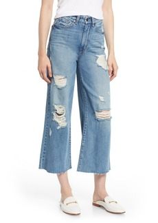 Habitual Jeans Habitual Jetti Ripped High Waist Crop Flare Jeans (Poplar)