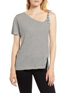 Habitual Jeans Habitual Jules Asymmetrical Stripe Top
