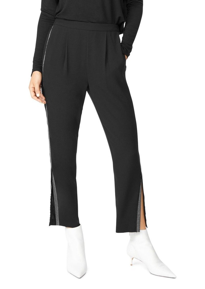 Habitual Jeans Habitual Ria Embellished Slit-Hem Pants