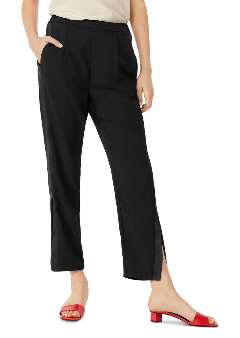 Habitual Jeans Habitual Ria Tuxedo-Stripe Straight-Leg Ankle Pants