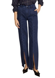 Habitual Jeans Habitual Suri High Waist Slit Front Jeans (Deep Night)