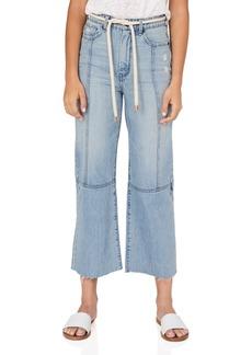 Habitual Jeans Habitual Tie Waist Wide Leg Jeans (Alder)