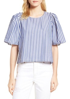 Habitual Jeans Habitual Valeria Stripe Stretch Cotton Top