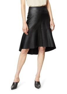 Habitual Jeans Jayda Faux Leather Trumpet Skirt
