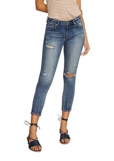 Habitual Jeans Marina Dart Hem Skinny Jeans