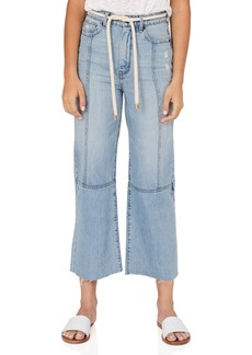 Habitual Jeans Rhys Crop Wide Leg Belted Pants