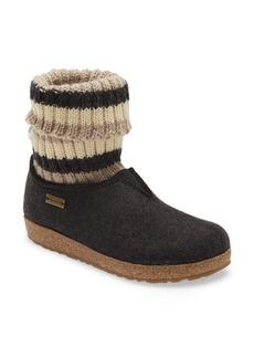 Haflinger Kristina Knit Sock Slipper Bootie (Women)