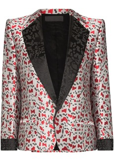Haider Ackermann Abstract jacquard blazer
