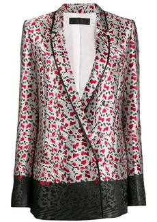 Haider Ackermann all-over print blazer