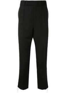 Haider Ackermann chain detail wool trousers