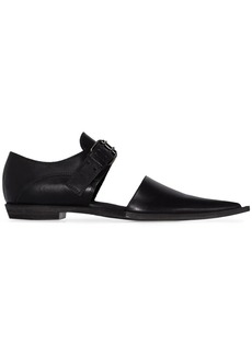 Haider Ackermann cut-out detail loafers