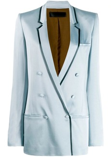 Haider Ackermann double breasted blazer